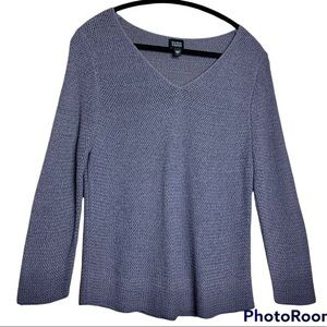 Eileen Fisher V-neck sweater size Large